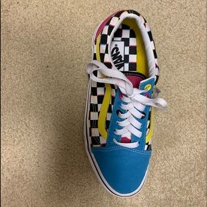 Multi Color Vans